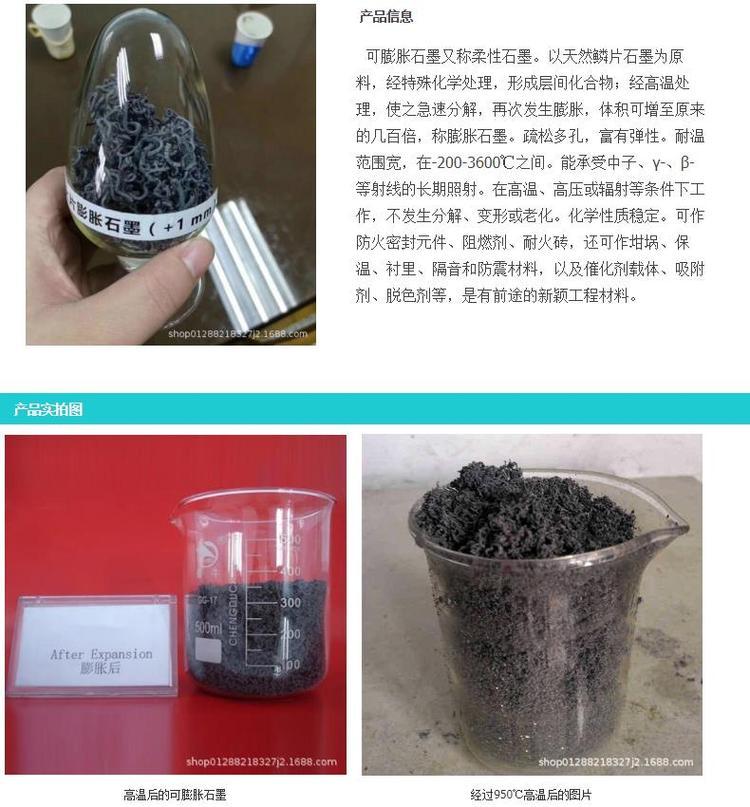 鳞片石墨粉,可膨胀石墨-青岛晨阳石墨乳公司