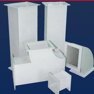 国泰   质优价廉 欢迎来电咨询 无机玻璃钢风管 厂家长期生产 有机玻璃钢风管  价格实惠 通风管道