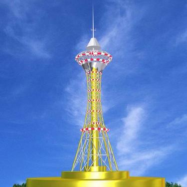 兆宇直销 亮化铁塔 120米电视铁塔 100米圆钢电视塔  角钢电视塔 电视塔 广播电视塔  钢管电视塔 可定制