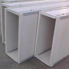 奥普低价供应无机玻璃钢通风管道 通风管道厂家 无机玻璃钢通风管道
