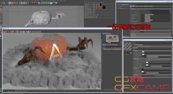 C4D阿诺德Arnold渲染器 SolidAngle C4DtoA 2.4.1 R18/R19/R20 Win/Mac AMPED破解版_