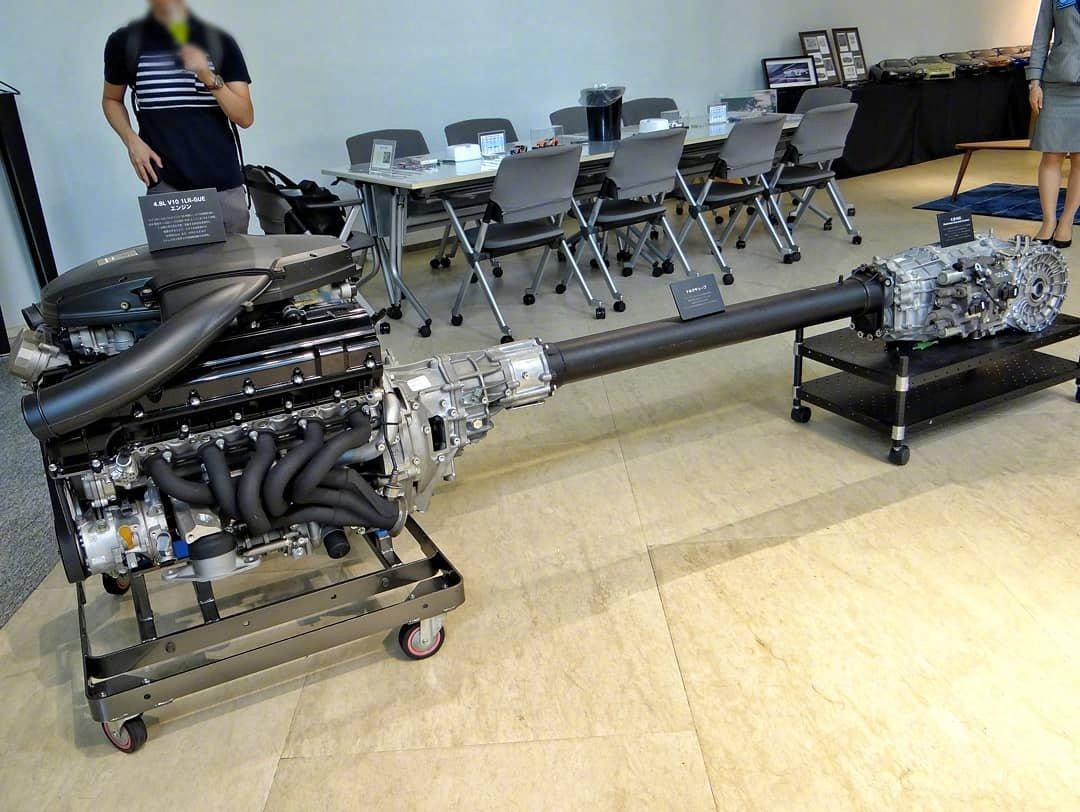 雷克萨斯LEXUS LFA 1LR-GUE Engine-新浪汽车