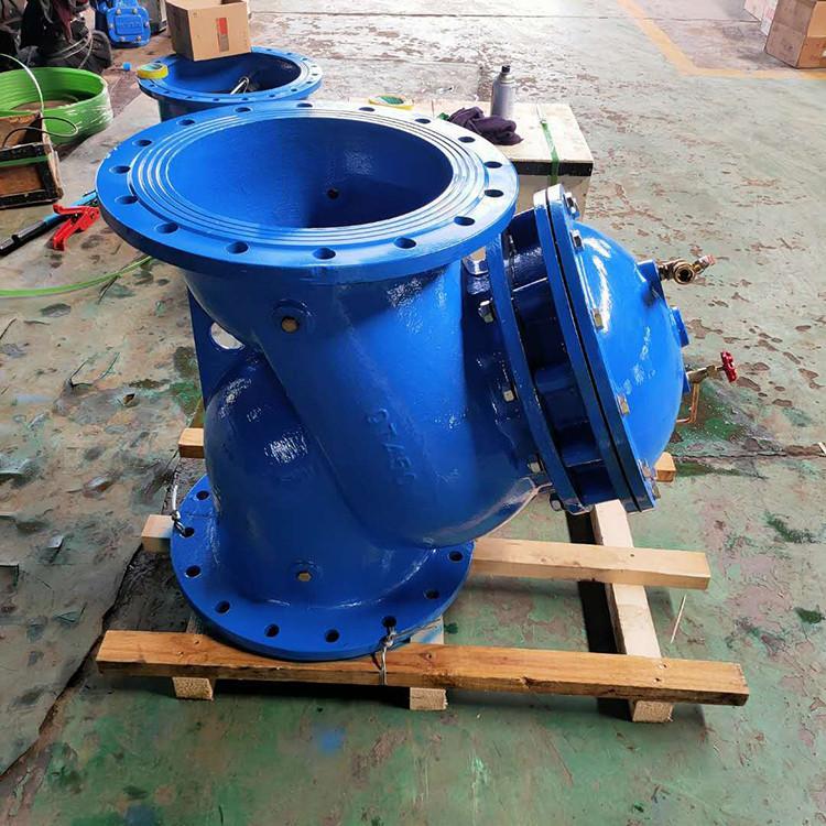 多功能水泵控制阀构造原理  沧州利驰阀门有限公司