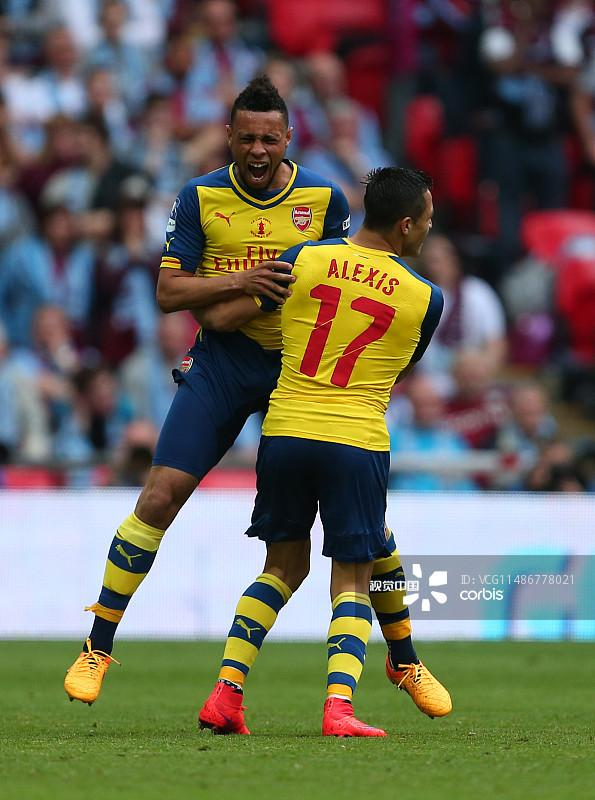 Soccer - Arsenal vs. Aston Villa - 2015 FA Cup Final编辑图片素材_ID:486778021 -