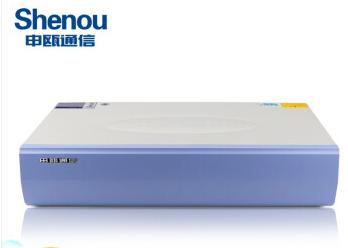 濟南申甌電話交換機SOT600KII16口進中繼208分機IP電話交換機