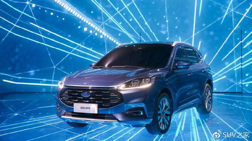 未来3年推出30+车型!福特发布2.0战略!首推全新SUV福特Escape Titan