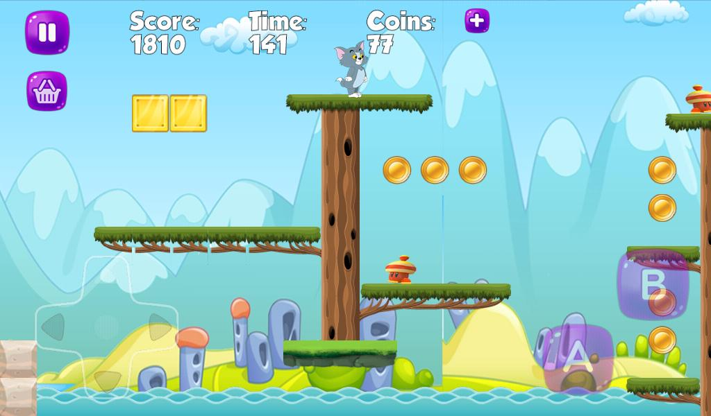 Tom Follow And Jerry Run Adventures Game Free下载