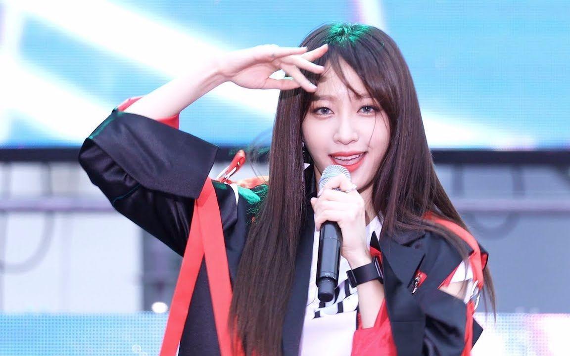 EXID - L.I.E 首尔光化门广场特别舞台 Kpop Hani 表演