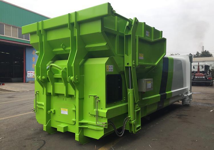 一体式垃圾压缩站/移动垃圾转运站/连体式垃圾站设备