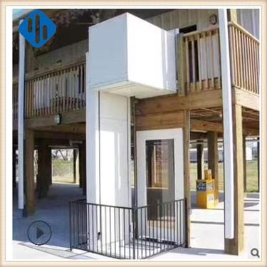 家用升降平台 别墅复室电梯 小型二三四层室外电梯 观光液压电梯