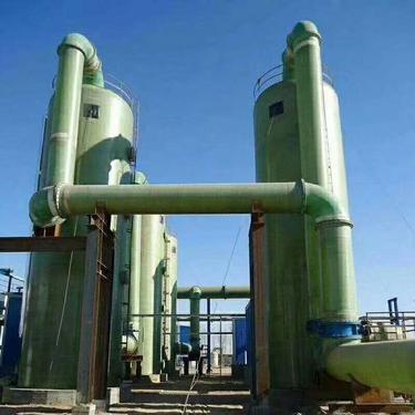 河北运兴供应玻璃钢盖板格栅生物喷淋塔玻璃钢管道